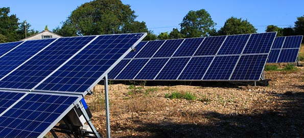 We're using solar panels at our nursery